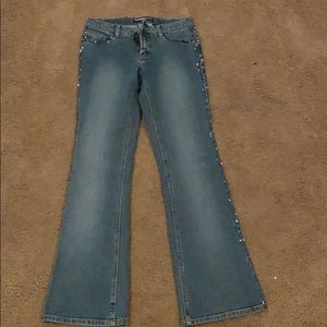 Express stretch jeans